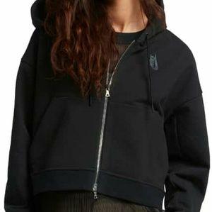 Nike Lab Essentials crop hoodie